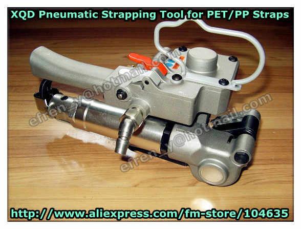 Гарантировано 100% Новое XQD-25 Пневматический ПЭТ Пластик сварки трением связывать инструмент для 19-25 мм pet/pp ремень