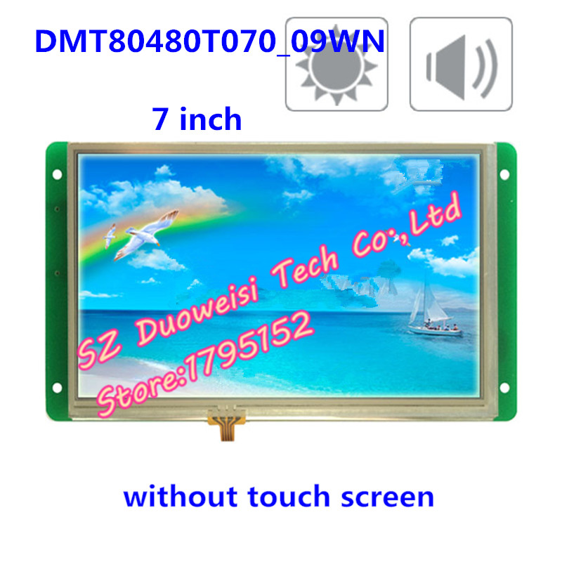 DMT80480T070_09WN, 7 inch Wide Temperature Highlight DGUS non-touch voice, clearly under the sun полотенцесушитель domoterm dmt 109 т5
