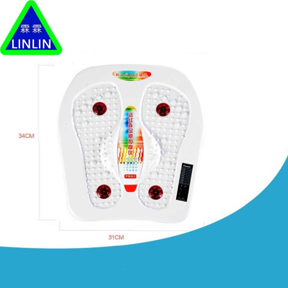 LINLIN infrared reflexology foot Massager electric machine.Automatic roller feet care massager circulation therapy heater SPA