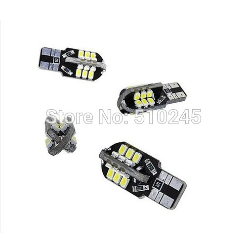 30X new model 24 SMD 2835 SMD Car Auto Led T10 194 W5W Led Light Bulb Auto Led Lamp free shipping