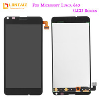 For Microsoft Nokia Lumia 640 LCD Display Touch Screen Digitizer Assembly With Frame 5 0 Screen