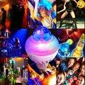 E27 Colorido bola mágica rotativo luz da noite LEVOU RGB luz do estágio para o partido DJ lâmpada atmosfera de Carnaval