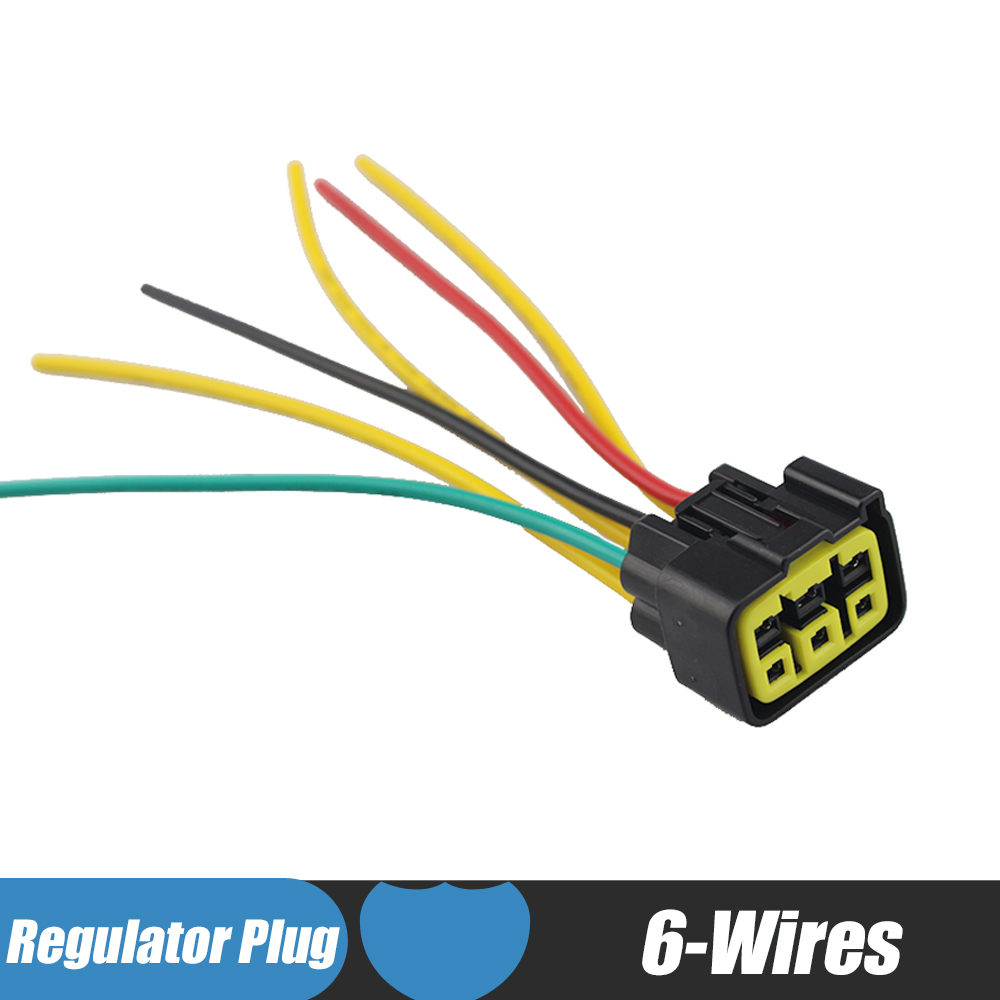 6 Wires Motorcycle Regulator Rectifier Plug Voltage Rhaliexpress: Arctic  Cat Regulator Rectifier Wiring Diagram At