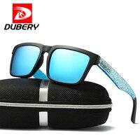 Hot Sale DUBERY Polarized Sunglasses Men Quality Sun Glasses 2018 Luxury Brand DesignerMen Women Driving Vintage Sunglasses