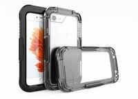 Waterproof Case For Iphone 7 Plus Hard Full 360 Protector Snowproof Shockproof Heavy Duty Protector Underwater