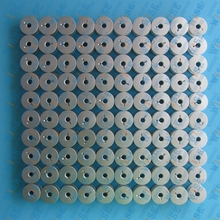 100 Aluminum Bobbins With Slot For Handi Quilter HQ Sixteen Quilting Machines #18034AS 100PCS