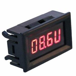 Image 2 - 2 في 1 LED مقياس سرعة الدوران الرقمي RPM الفولتميتر لمحرك السيارات الدورية السرعة MAY25 دروبشيب
