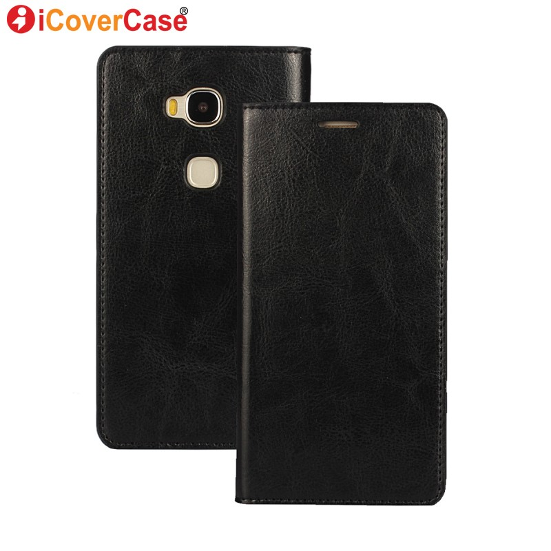 For Huawei Honor 5X Case Flip Wallet Leather Cover Funda for Huawei GR5 Honor X5 6