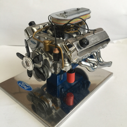 2018 Hobby 1:6 For Ford Fiesta 427sohc Stirling Engine Alloy Simulation Automobile Compressor Model Building Kits Limited Metal