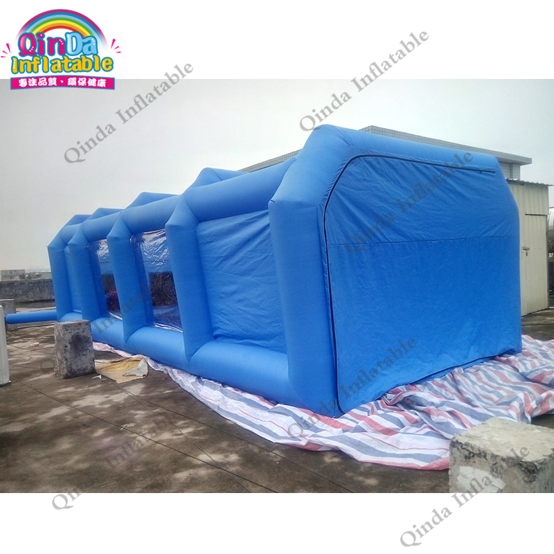 32.8ft Inflatable Car Painting Tent Carbon Filter Spray Booth Cheap Spray Paint Booth Used Spray Booth For Sale