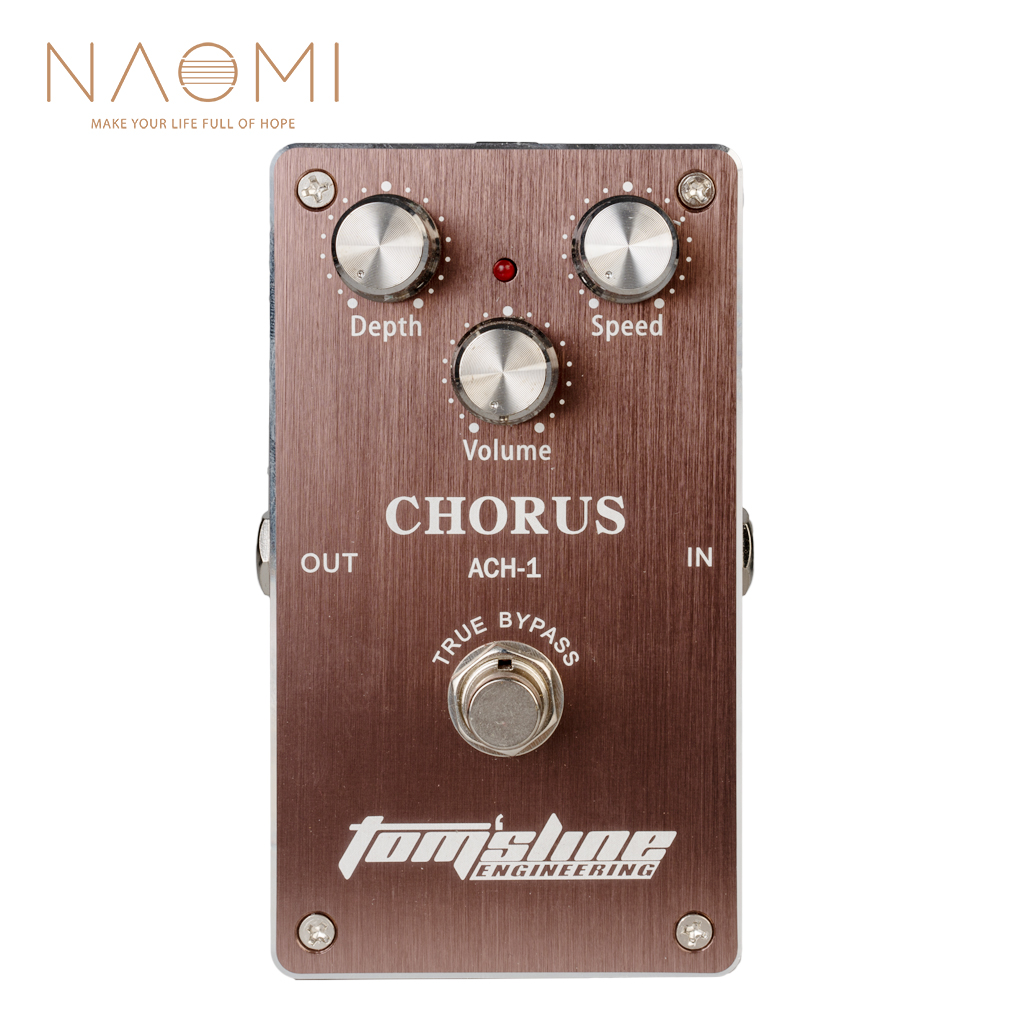 NAOMI Aroma NEW TOM SLINE ENGINEERING PEDAL GUITAR EFFECT PEDAL ACH 1 CHORUS TRUE BYPASS
