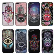 Yinuoda Art hands Black Soft silicone Cover case For iPhone 5 5s SE 6 6plus 7 7Plus 8 8plus X XS XR XSMax coque case(China)