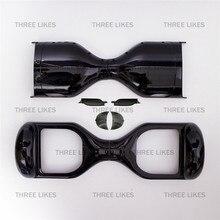 Noir Hoverboard En Plastique Shell Remplacement de Cas de Couverture Accessoires pour 6.5 Pouces Auto Équilibrage 2 Roues Électrique Scooter Pièces
