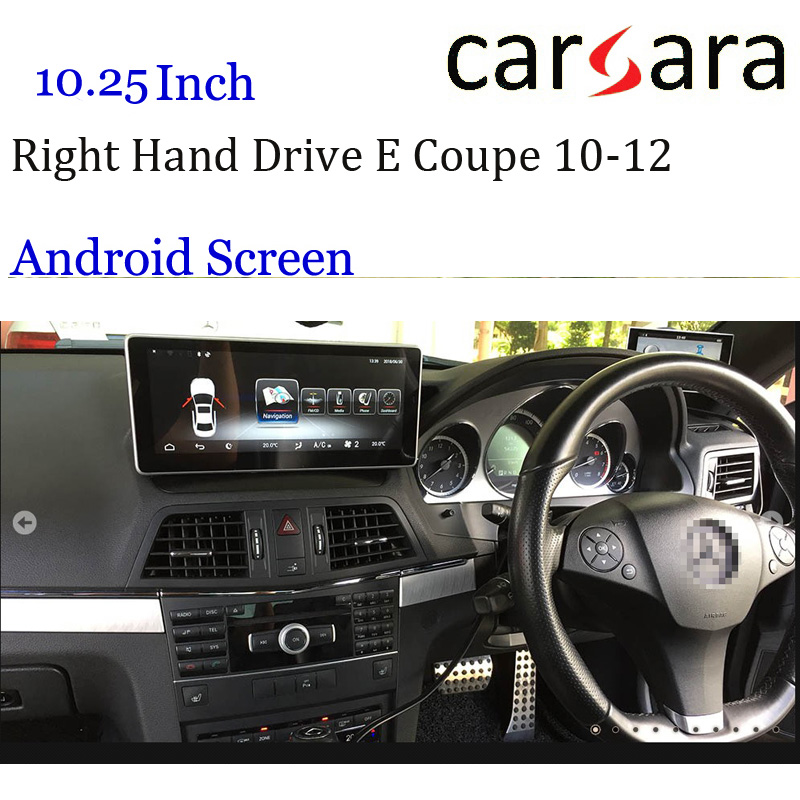 Right Hand Drive Android W207 A207 C207 GPS Merce des Display Car Multifunctional Navigator For Ben z E Class Coupe 10-12 ScreenRight Hand Drive Android W207 A207 C207 GPS Merce des Display Car Multifunctional Navigator For Ben z E Class Coupe 10-12 Screen