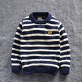 2015 New kids autumn/winter wear Children sweater kid's casual sweaters fashion striped for baby boy's Pullover 5sizes for 2-7T