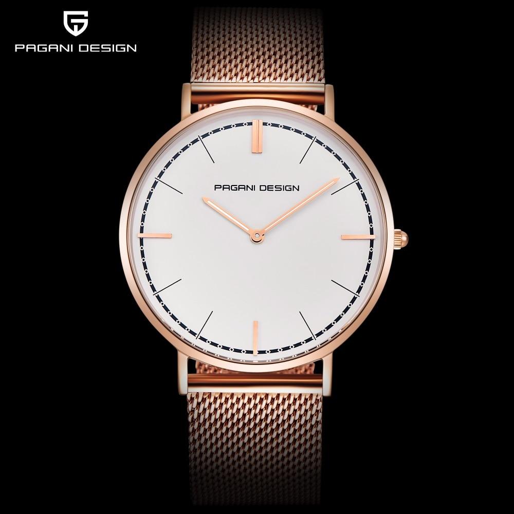 PAGANI DESIGN Brand Fashion Lovers Women Watches Stainless Steel Bracelet Watch Men Waterproof Quartz Clock Relogio Masculino стоимость