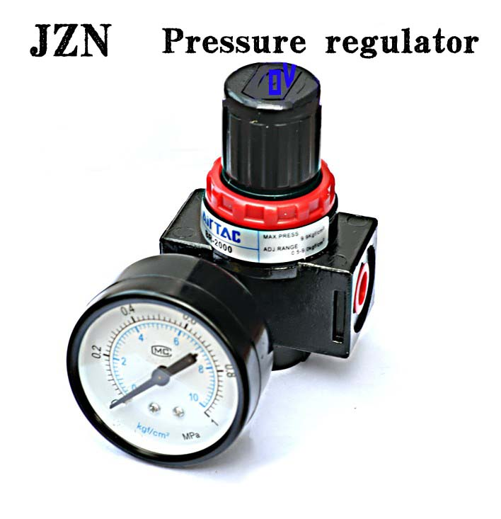 Free shipping ( 1 PCS ) Ya Deke type pneumatic components pressure regulator valve pressure relief valve BR2000/BR3000/BR4000 sns regulator pressure reducer valve pneumatic components ar2000 airtac type