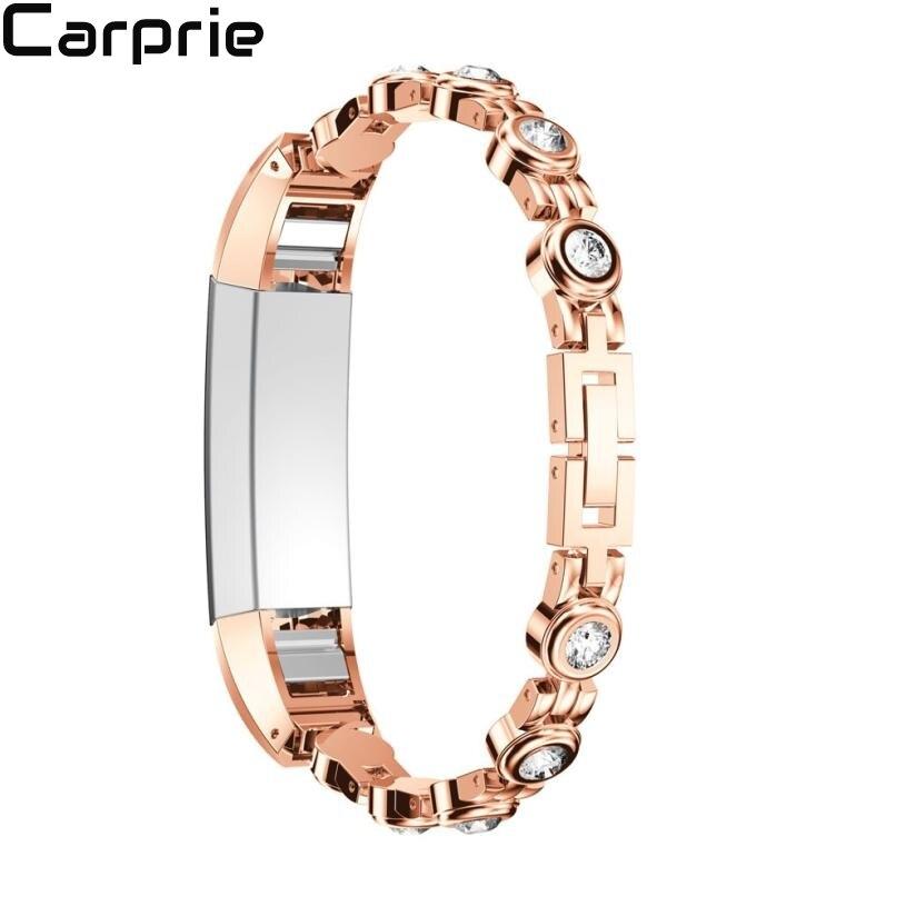 NEUE Hohe qualität Echtem Edelstahl Uhr Armband Band Strap Für Fitbit Alta HR für Fitbit Alta Uhr aug28