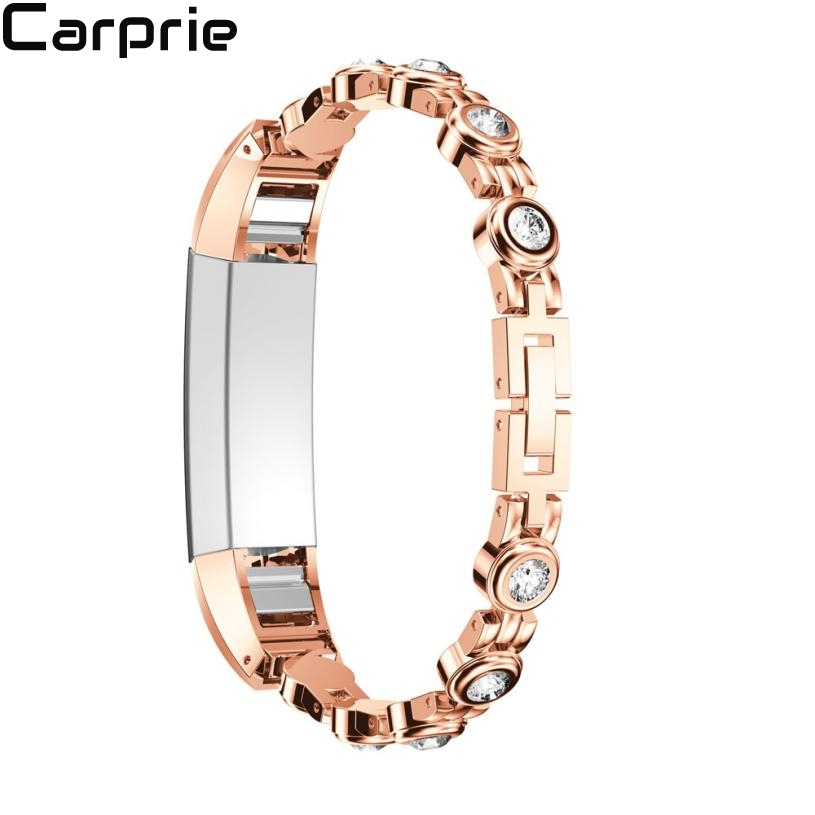 NEW High quality Genuine Stainless Steel Watch Bracelet Band Strap For Fitbit Alta HR for Fitbit Alta Watch aug28 arc metal strap for fitbit alta alta hr stainless steel watch band for fitbit alta hr watch band bracelet wirst band