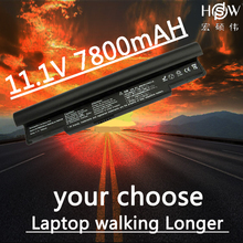 HSW 7800MAH New laptop battery for Samsung NC10 NC20 ND10 N110 N120 N130 N135, AA-PB6NC6W,1588-3366,AA-PB8NC6B 9cells