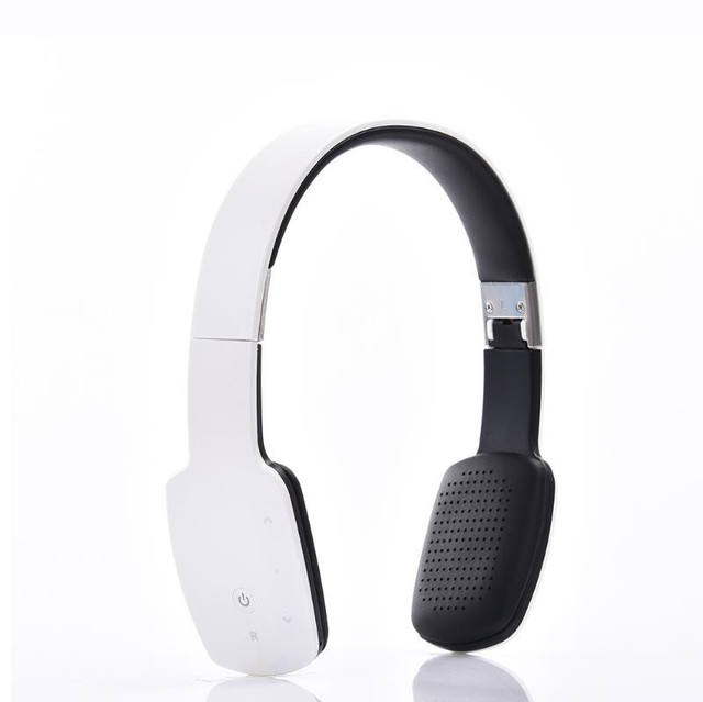 2018 Touch Button Wireless Headphone Bluetooth Sport Foldable HIFI Headset  Stereo Earphone with Microphone for IOS Android phone 50f837922d