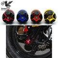 Envío gratis motorcycle crash pad protector para yamaha moto motocross protección falling modificado cuadro móvil pad partes