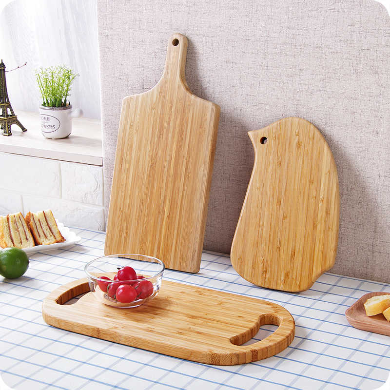 Home Wooden Cutting Board Food Grade Chopping Block Cake Sushi Plate Serving Tray Easy To Clean Baking Tool Kitchen Accessories