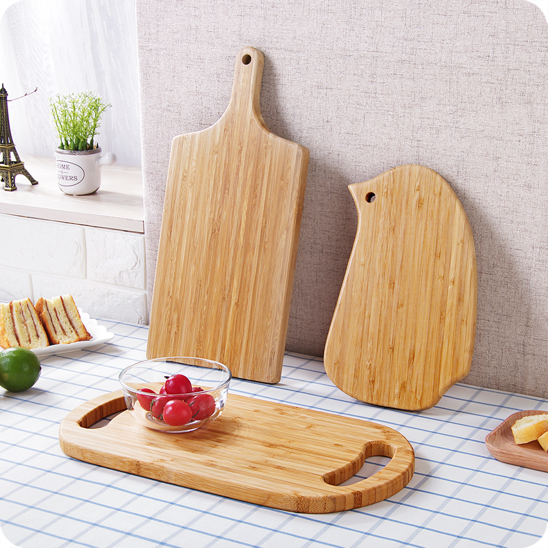 Home Wooden Cutting Board food grade Chopping Block Cake Sushi Plate Serving Tray easy t ...