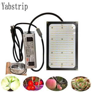 Image 1 - 120W 240W Led Grow Light Full Spectrum Samsung  LM561C LM301B 3500K 660NM Dimmable Meanwell Driver plant lamp for indoor flower