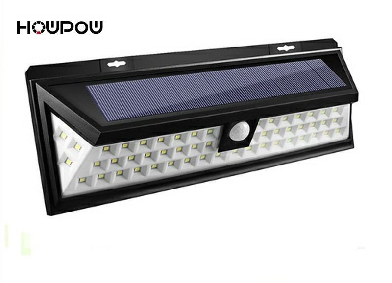 HOWPOW Waterproof 20 LED Solar Light Solar Power PIR Motion Sensor LED Garden Light Outdoor Pathway Sense Solar Lamp Wall Light