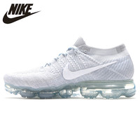 Nike Women's Running Shoes Air VaporMax Flyknit Original New Arrival Authentic Sports Sneakers 849558 004 EUR Size W