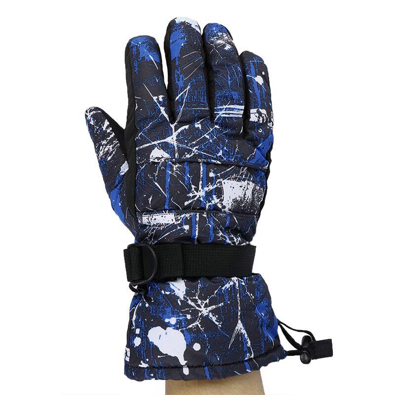 -30 Degree Children Skiing Gloves Windproof Waterproof Unisex Snow Ski Gloves Snowboard Gloves Motorcycle Riding For Women Men