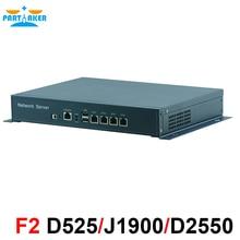 Desktop D525 4 LAN Network Firewall Network Security Computer Router Firewall Motherboard Firewall Appliance
