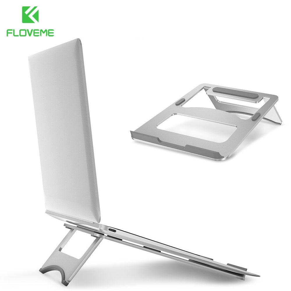 FLOVEME Universale In Lega di Alluminio Tablet Holder Per iPad Pro makeup 12.9 Metallo Supporto Per Macbook Pro Laptop Stand Holder Accessori