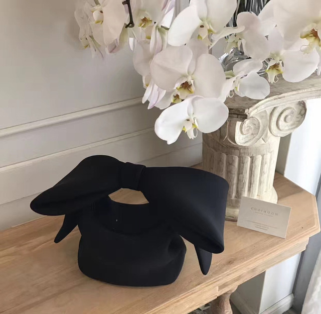 ANAWISHARE Designer's Bow Day Clutches Bag 4