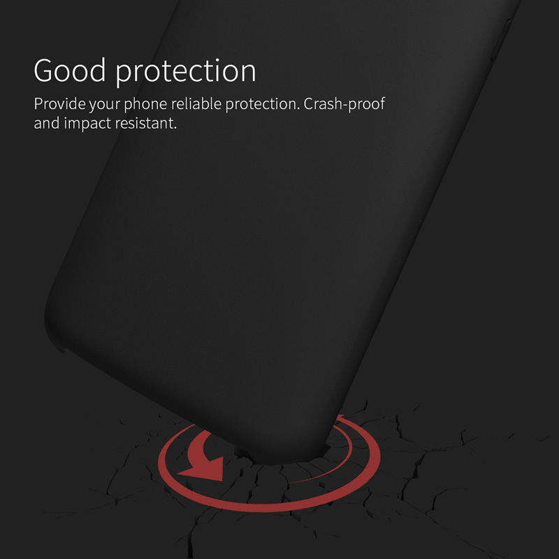 Bakeey Smooth Liquid Silicone Rubber Back Cover Protective Case for Xiaomi Mi 9 / Xiaomi Mi9 Transparent Edition