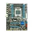 PC de escritorio x79 placa madre para LGA 2011 aguja Soporta ECC REG memoria del servidor