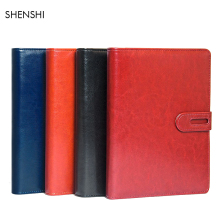купить Loose-leaf Leather Business Notebook A5 Weekly Plan Notebook Diary Notepad Sketchbook Planner Organizer Student Supplies 19225 по цене 970.83 рублей