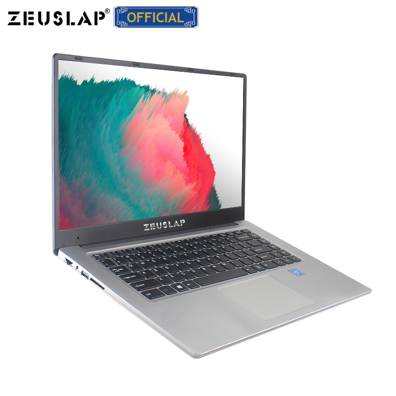 ZEUSLAP New 15.6inch 6GB Ram Dual Disks 1920*1080P IPS Screen Windows 10 System Fast Boot Cheap Netbook Laptop Notebook Computer(China)
