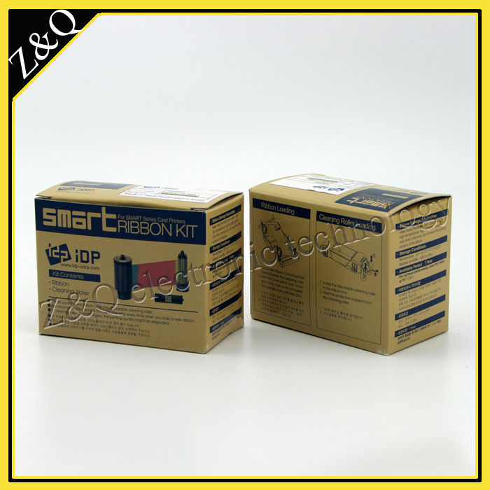 IDP Smart 650682 SIADC-P-MG  gold ribbon for use with smart card printer 50s,50l,50d,30s-1200 prints
