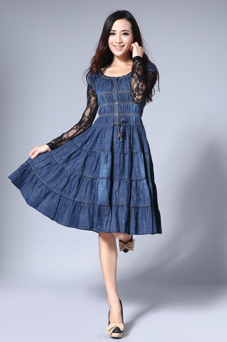 Buy denim dresses