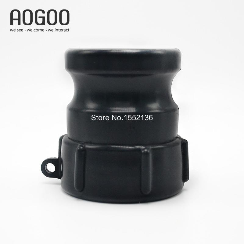 2Inch DN50 Inlet Thread To 2Inch Camlock Hose 1000L IBC Tank Adapter Fitting Coarse Thread ibc water tank 62mm dn40 screwable ball valve square coarse thread