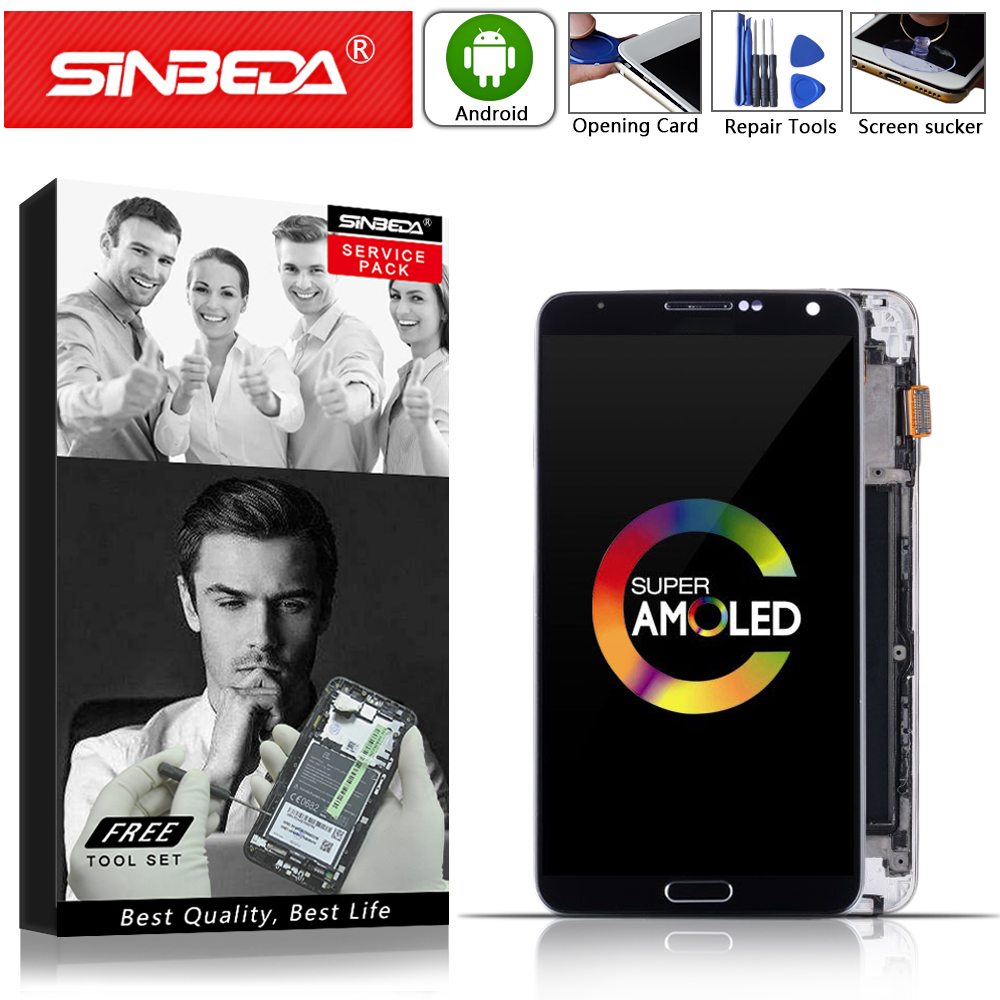 AMOLED 5.7 For SAMSUNG Galaxy Note 3 LCD Display Touch Screen with Frame N9005 For SAMSUNG Note 3 Display N900A N900T Note3 LCDAMOLED 5.7 For SAMSUNG Galaxy Note 3 LCD Display Touch Screen with Frame N9005 For SAMSUNG Note 3 Display N900A N900T Note3 LCD