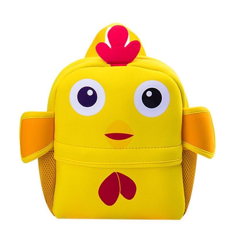 3D Cute Animal Backpack Kids School Bags for Children Girls Boys Cartoon Shaped Backpacks -OPK(China)