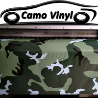 1.52*5/10/15/20/25/30 Meters Urban Green White Black Camouflage Vinyl Wrap Sticker Foil For Car Body Cover Wrapping