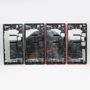 Image 2 - Dower Me กลางวงเล็บโลหะแชสซี Bezel แผ่นฝุ่นปลั๊กปุ่มสำหรับ Sony Xperia XZ Premium g8142 G8141