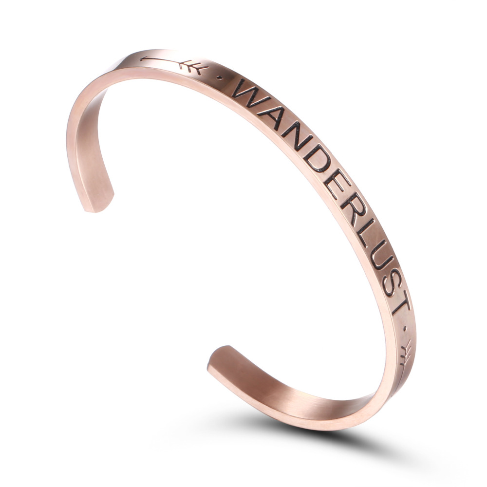 Symbol Of The Brand 1 Pcs Fashion Style Women Mens Screw Hand Love Letter Cuff Bangle Bracelet Jewelry Gift Bracciali Donna We Take Customers As Our Gods Bangles
