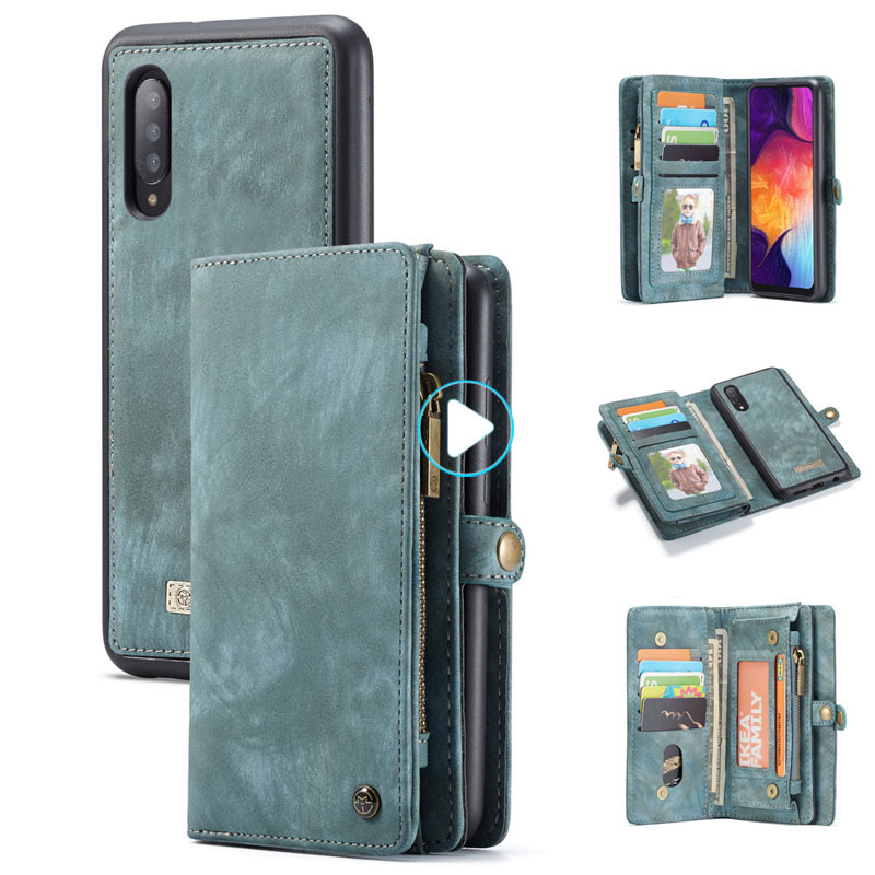 For Samsung Galaxy A20 A30 A50 Case Luxury Genuine Flip Wallet Leather Cover Mobile Phone Back Case For Samsung A40 A70 A50-in Wallet Cases from Cellphones & Telecommunications on AliExpress - 11.11_Double 11_Singles' Day 1
