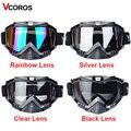 Vcoros Gafas moto rcycle goggles helm brille moto helme gläser masque moto kreuz goggles ski winddicht eyewears-in Motorrad-Brillen aus Kraftfahrzeuge und Motorräder bei
