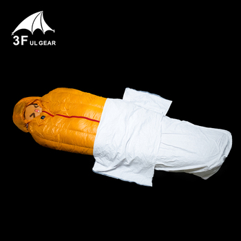 3f ul gear Tyvek sleeping bag cover liner waterproof Bivy Bag 5